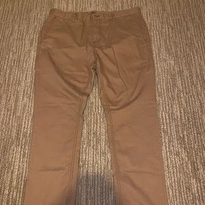 Brown tan beige khaki chino pant 36x32
